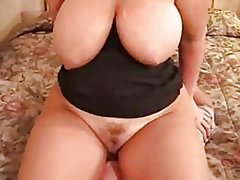 Amazing Fat Chubby Ex Girlfriend with big Ass Face Sitting